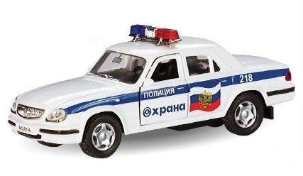 Масштабная модель ГАЗ 31105 Охрана 1:43 33902 Autotime