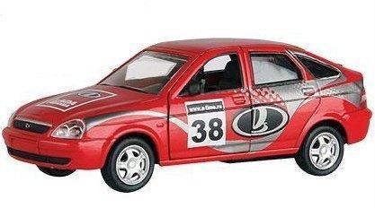 Масштабная модель Лада Приора Спорт 1:36 33987 Autotime