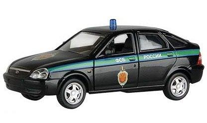 Масштабная модель Лада Приора ФСБ России 1:36 33984 Autotime