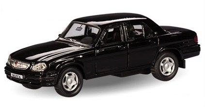 Масштабная модель ГАЗ 31105 Гражданская 1:43 4307 Autotime