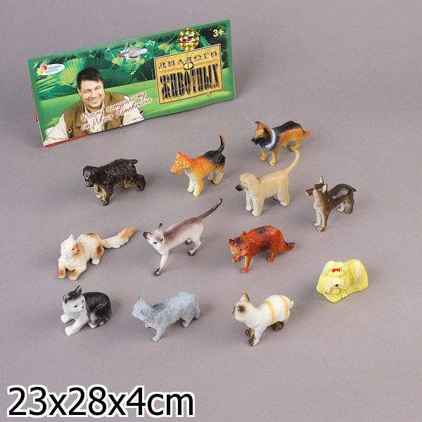 Набор фигурок Домашние животные 12 штук HA2491 Играем вместе