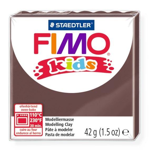 Полимерная глина для детей FIMO kids Коричневая 42 гр. 8030-7 Staedtler FIMO