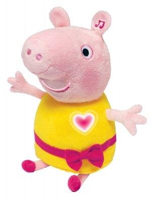 Мягкая игрушка Свинка Пеппа с речевой анимацией, светом, звуком 30 см 30567