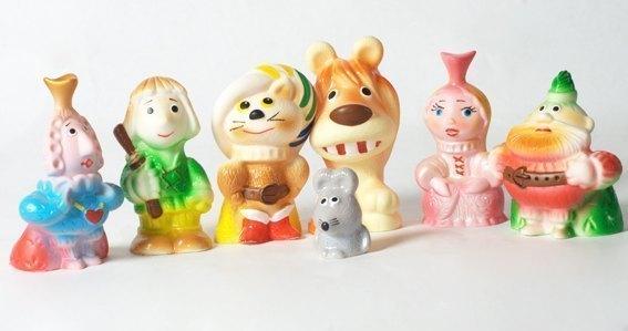 Набор фигурок Кот в сапогах пластизоль ПКФ Игрушки