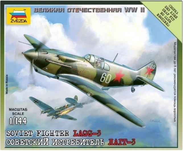 Сборная модель Советский истребитель ЛАГГ-3 6118 Звезда