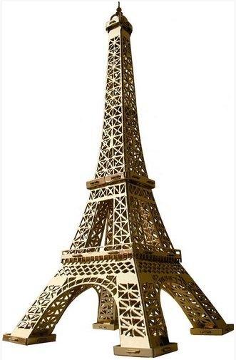Сборная модель Эйфелева башня 289-01 Умная бумага
