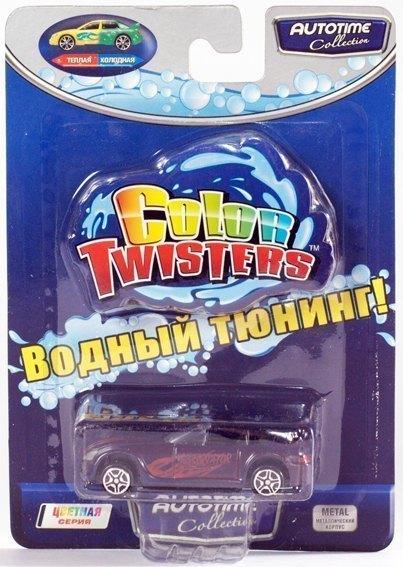 Машинка меняющая цвет Color twisters Autotime