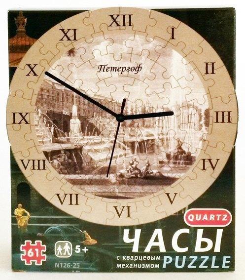 Часы-пазл Петергоф 126-25 Умная бумага