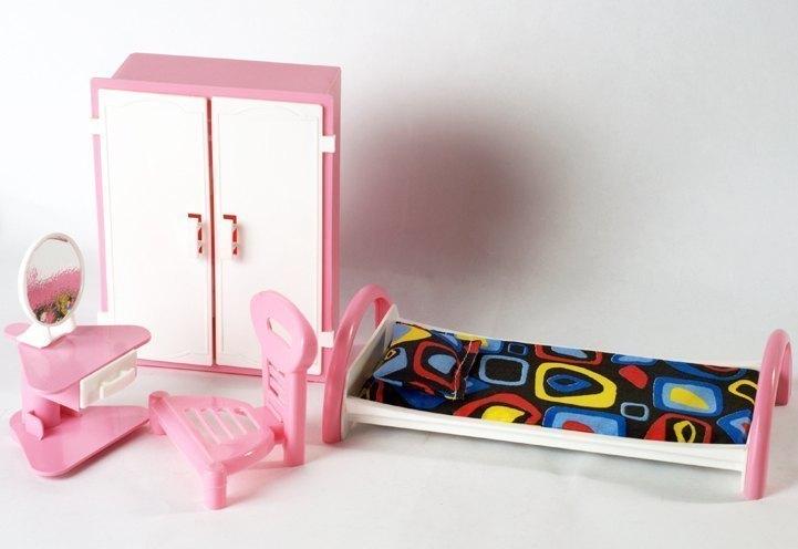 Кукольный набор мебели Спальня С-48 Кристина Форма
