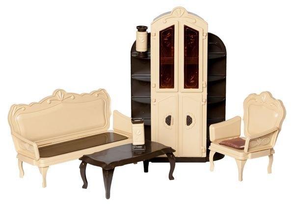 Кукольная мебель для гостиной Коллекция. Огонек С-1299