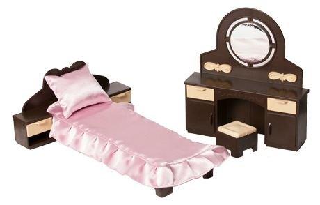 Кукольная мебель для спальни КоллекцияС-1303 Огонек