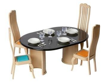Кукольная мебель для столовой Коллекция С-1300 Огонек
