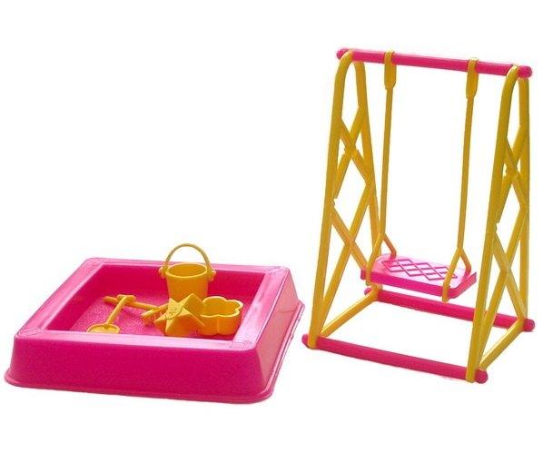 Мебель для кукол Площадка - Качели для кукол 0067 Астрон