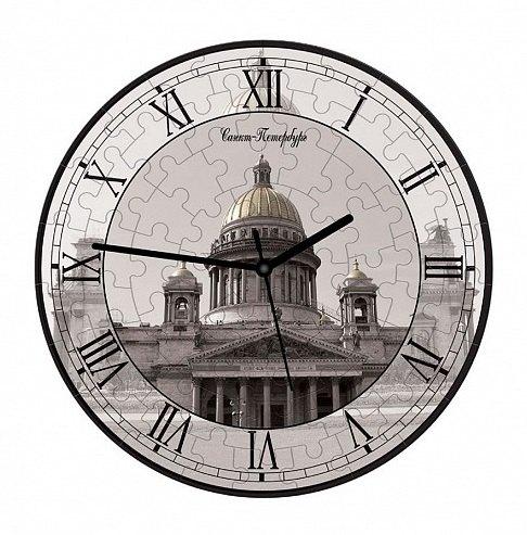 Часы-пазл Исаакиевский собор 126-23 Умная бумага