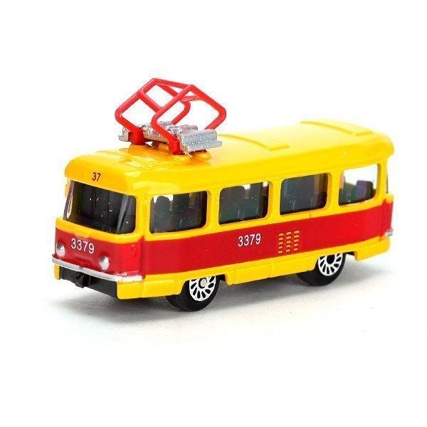 Масштабная модель Трамвай малый 1:72 SB-13-01-2T Технопарк