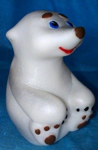 Фигурка Медвежонок Малыш из пластизоля СИ-454 ПКФ Игрушки