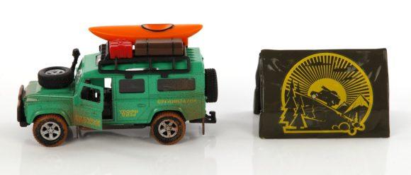 Игрушечная модель Land Rover Трофи 1:32 870101 Пламенный мотор