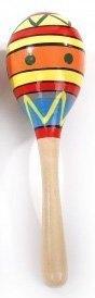 Музыкальная игрушка Маракас деревянный большой Д210 Мир деревянных игрушек МДИ