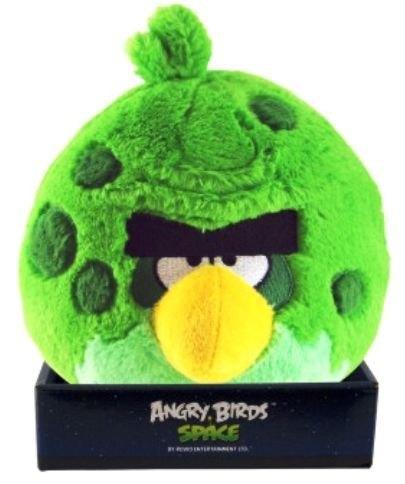Мягкая игрушка Angry Birds Space Зеленая птица 20 см КАВ025