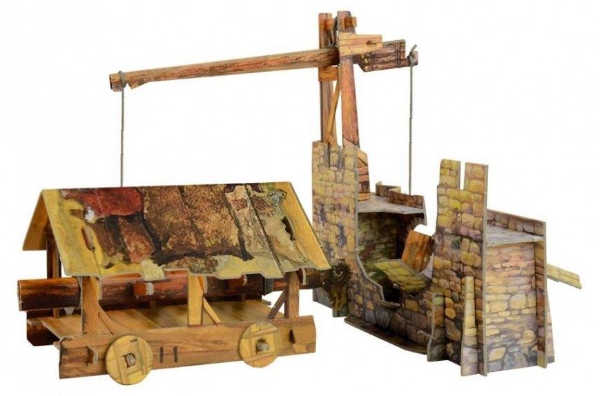 Сборная модель из картона Таран 341 Умная бумага