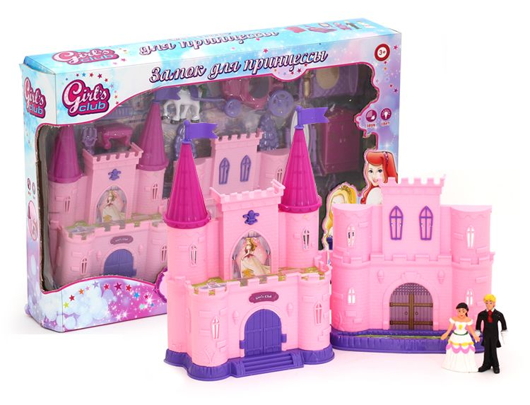 Замок для кукол с аксессуарами звук и свет IT100325 Girl's club
