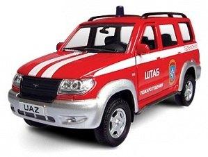 Машинка пожарная УАЗ Патриот 30184 1:43 Autotime