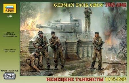 Сборная модель Немецкие танкисты 3614 Звезда