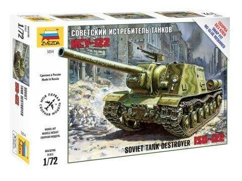 Сборная модель Советский истребитель танков ИСУ-122 5054 Звезда