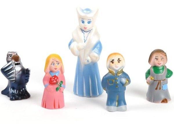 Набор фигурок Снежная королева пластизоль СИ-382 ПКФ Игрушки