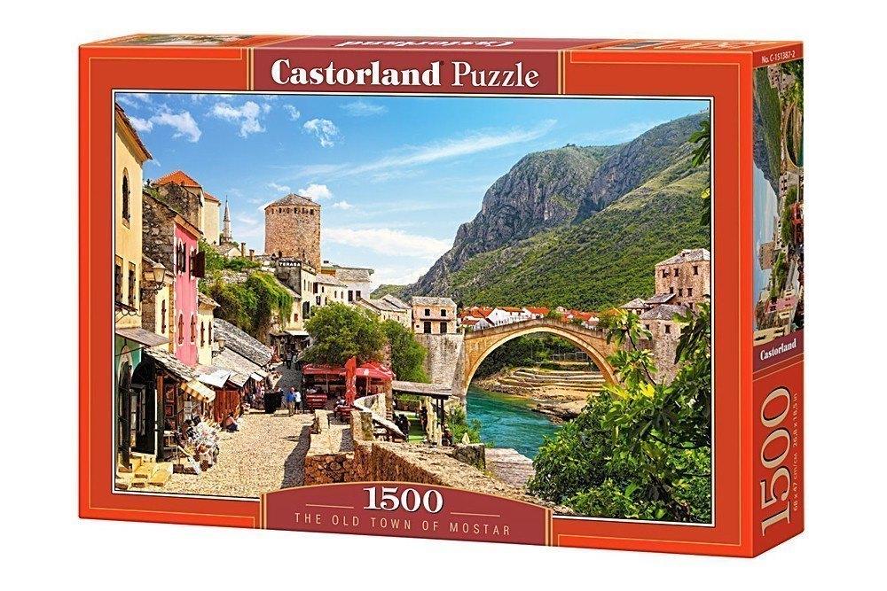 Пазл Старый город Мостар, 1500 элементов C-151387 Castorland Касторленд