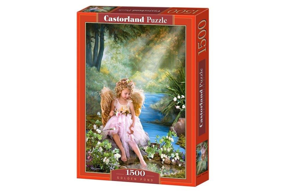 Пазл Золотой пруд, 1500 элементов С-150908 Castorland Касторленд