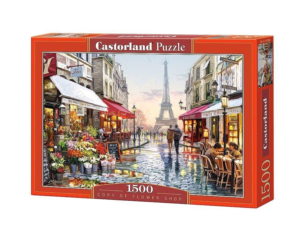 Пазл Цветочный магазин, 1500 элементов С-151288 Castorland Касторленд