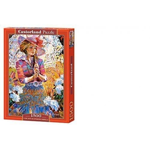 Пазл Девушка с зонтом, 1500 элементов С-151363 Castorland Касторленд