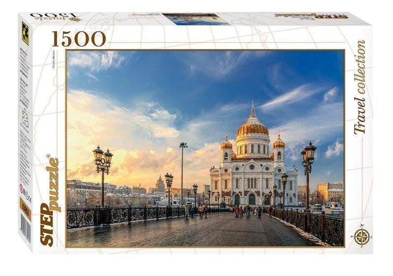 Пазл Храм Христа Спасителя, 1500 элементов 83053 Степ пазл Step puzzle
