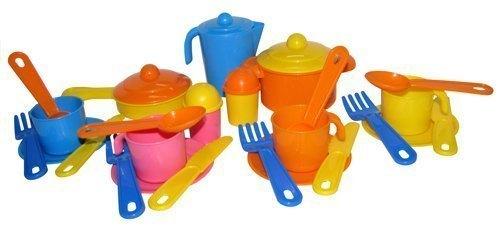 Детский игрушечный набор посуды для кукол Настенька на 4 персоны 3926 Полесье