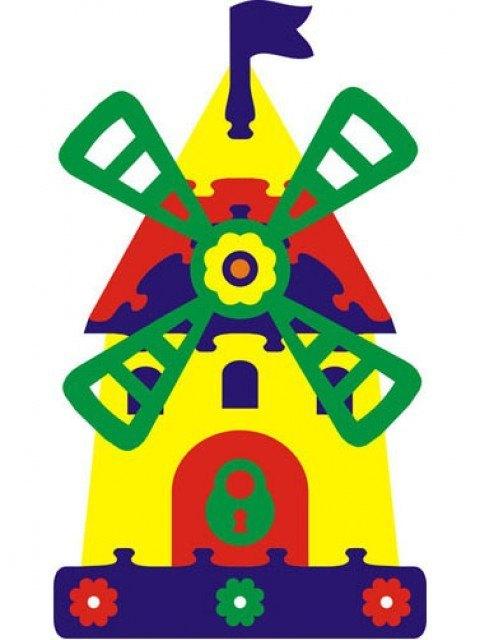 Мягкая мозаика Мельница 45355 Тедико