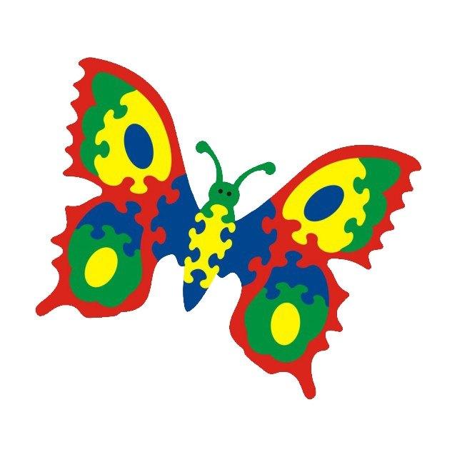 Мягкая мозаика Бабочка большая 45375 Тедико