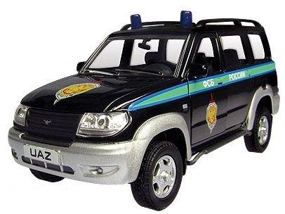 Масштабная модель УАЗ Патриот ФСБ России 1:43 30187 Autotime