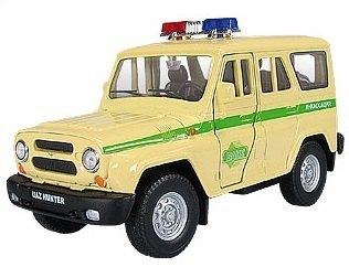 Масштабная модель УАЗ Хантер Инкассация 1:36 11454 Autotime