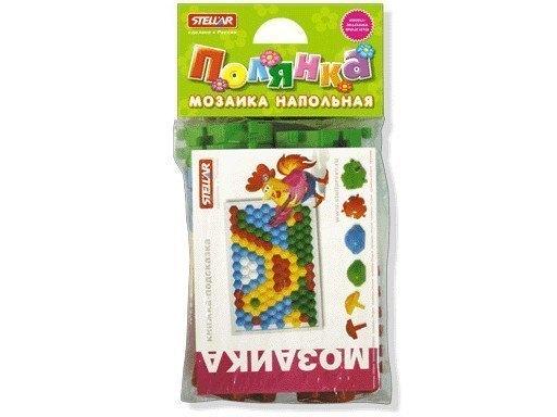 Детская Мозаика напольная Полянка диаметр 60 мм, 26 дет, 01056 Стеллар