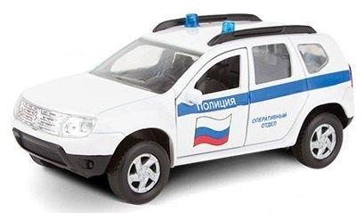 Масштабная модель RENAULT DUSTER Полиция 1:38 49478 Autotime