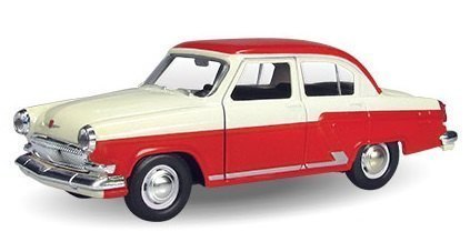 Масштабная модель ГАЗ-21 Волга Двухцветная 1:43 34101W-RUS Autotime
