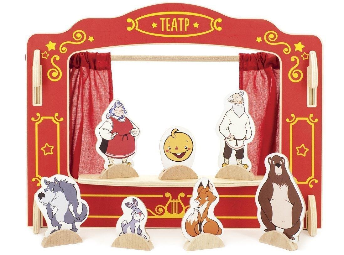 Домашний кукольный театр в картинках