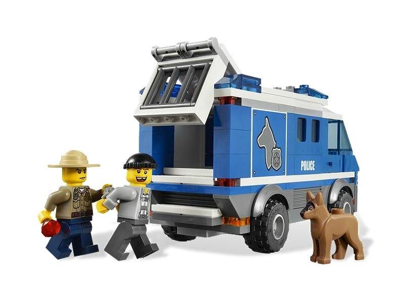 Купить лего полицейский фургон