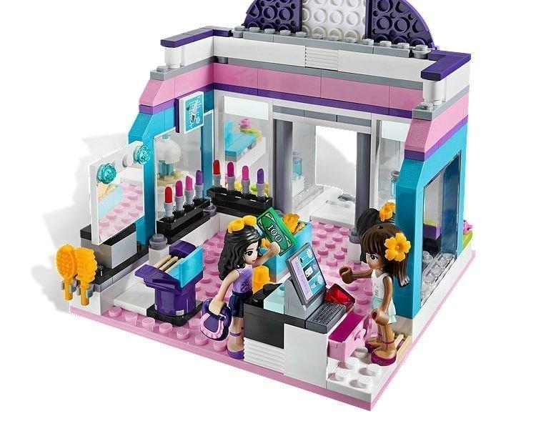 Лего френдс игра салон красоты