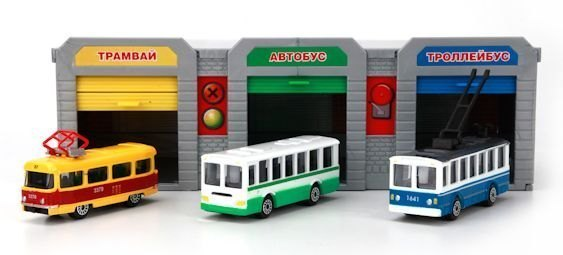 трамвай, автобус, троллейбус