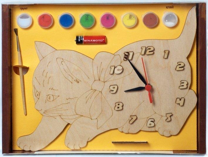 Детские часы из фанеры своими руками
